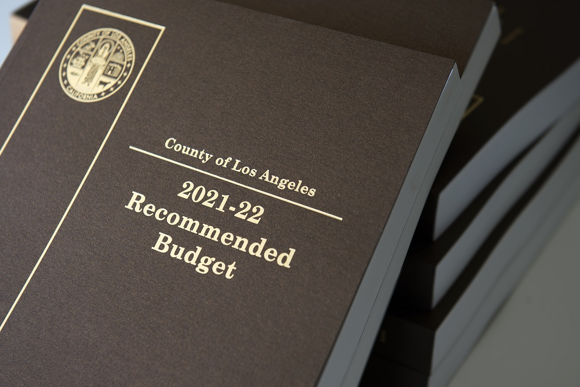 Budget Operations Los Angeles County